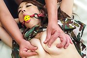 Perfect Japanese toy play with big tits Reon Otowa Photo 9