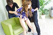 Serious Asian anal with tyos for Rino Sakuragi Photo 3