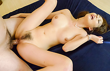 Creampied In Both Holes After Akari Asagiri's Threesome