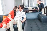 Hot Asian gangbang along juicy Maki Hojo  Photo 3