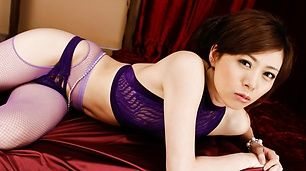 Hot Threesome With Keito Miyazawa Creamed In Lingerie