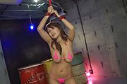 Big tits Yume Mizuki fucked with toys in hard modes  Photo 1