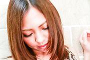 Sweet masturbation for big tits Japanese Hikari Photo 11