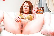 Watch Aoi Yuuki squirting as she's toy fucked by a friend Photo 8