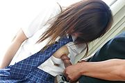 Naughty Teen Miku Airi Takes Cock In Her Uniform Photo 10