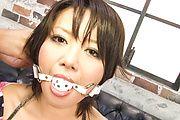 Impressive bondage porn play with Asian milf Haruka Uchiyama Photo 9
