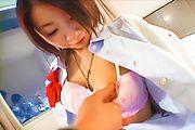 Asian schoolgirl,Wakana, fucking on cam Photo 3