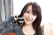 Shizuku Morino's Hairy Teen Pussy Creampied In POV Photo 2