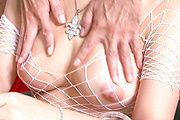 Nice tits hot gal Asuka sexy vibrator action Photo 3
