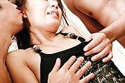 Amazing Asian gangbang porn with superb Mio Hiragi Photo 7