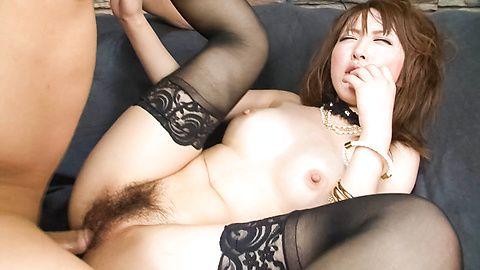 Sayaka Tsuzi is fucked deeply in...