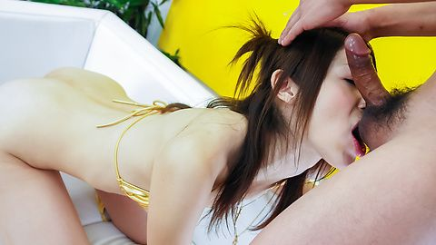 Top POV show along superb babe Riko Miyase