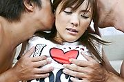 Nagisa Aiba Takes Anal Sex And A Pussy Creampie Photo 1