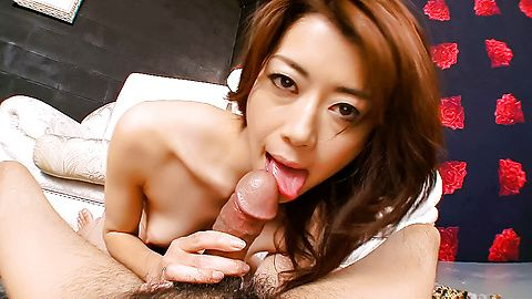 Hojo Maki showing off and wanking...