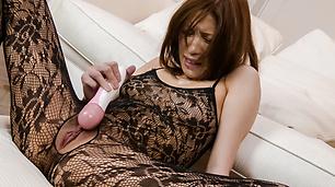 Tsubasa Aiharahaving her hairy pussy nailed right