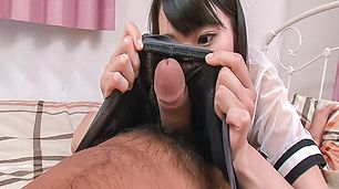Konoha enjoying top asian blowjob porn show