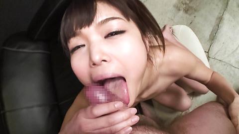 淫乱美乳ギャル篠めぐみのフェラプ...
