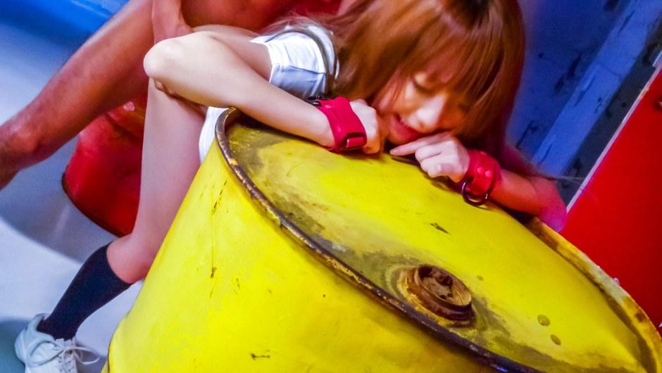 Sana Anzyu gets a creampie in japanese schoolgirl porn