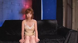 Hot asian bukkake sex while Sana Anzyu masturbates