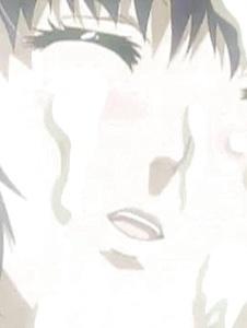 Cute Hentai earns a facial after blowing a big hard cock - Screenshot 1