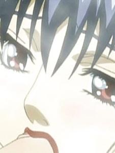 Cute Hentai earns a facial after blowing a big hard cock - Screenshot 3