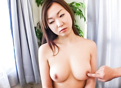 Pretty Japanese milf finger fucking and toy banging her quim