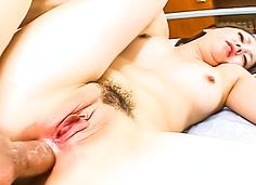 Horny schoolgirl double penetration Ichiko