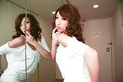 A Blowjob For Two Served Up By Aya Sakuraba Photo 9