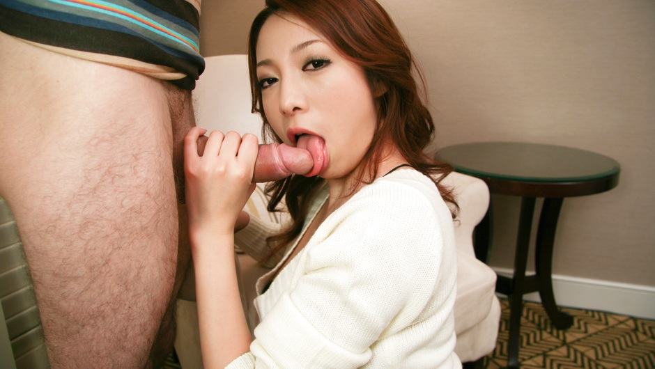 Cutie Kanako Tsuchiyo Sucks Cock And Gets A Facial