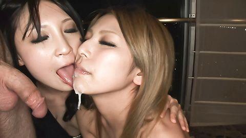 Sakura Kiryu & Akari Kimishima in...